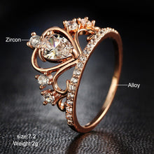 Load image into Gallery viewer, Princess Crown Ring - Lussuro