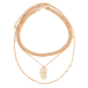 Pineapple Choker - Sateur Allure