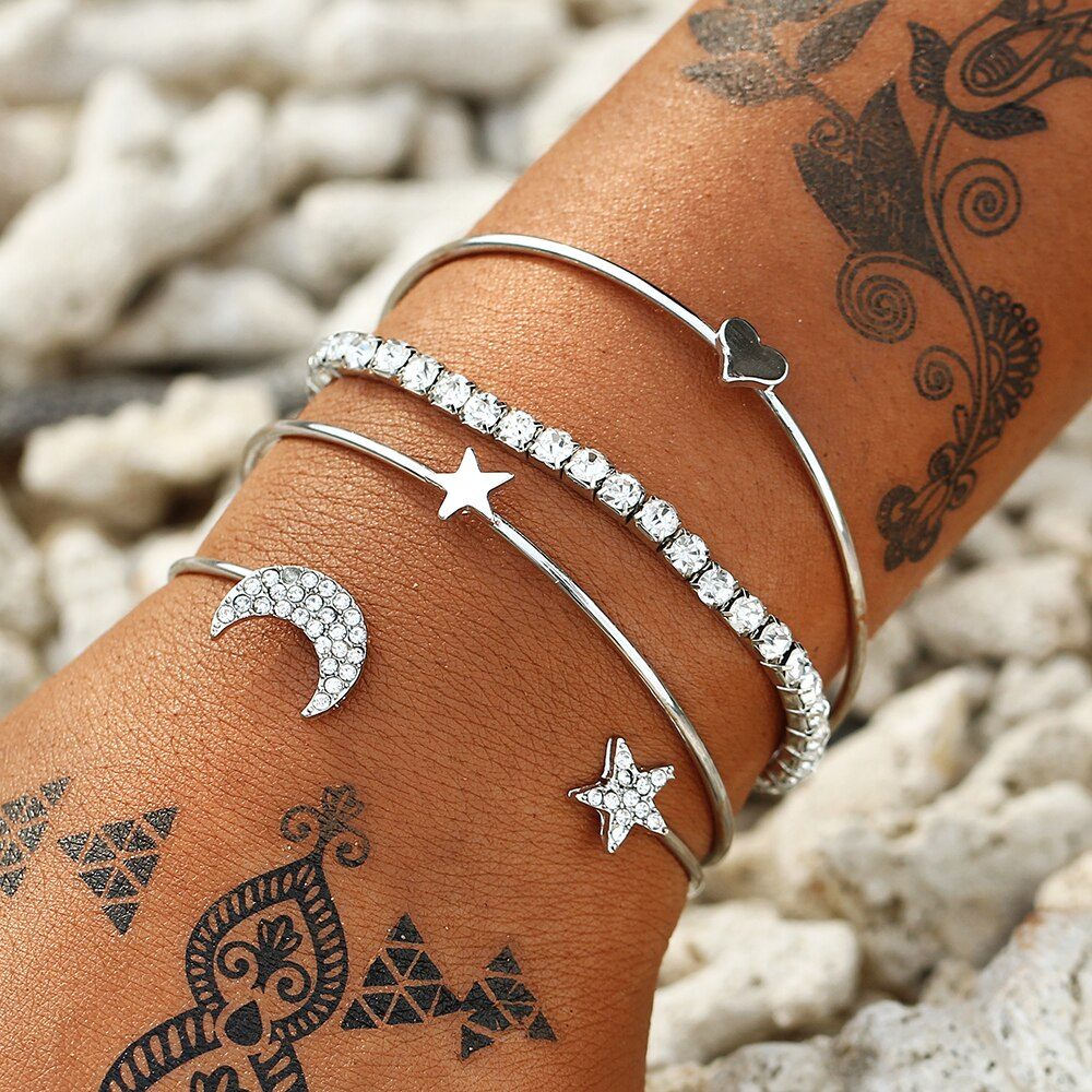 Crystal Bracelets Pack - Sateur Allure
