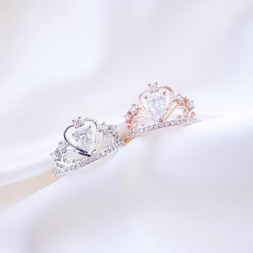 Princess Crown Ring - Sateur Allure