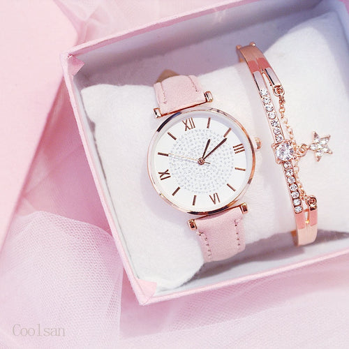 Galaxa Watch And Bracelet - Sateur Allure