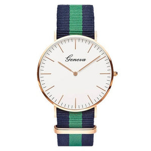 Geneve Nylon Watch - Sateur Allure