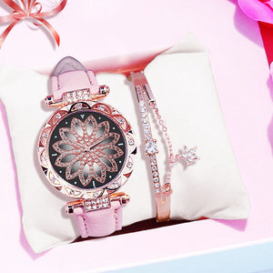 Starry Watch And Bracelet - Sateur Allure