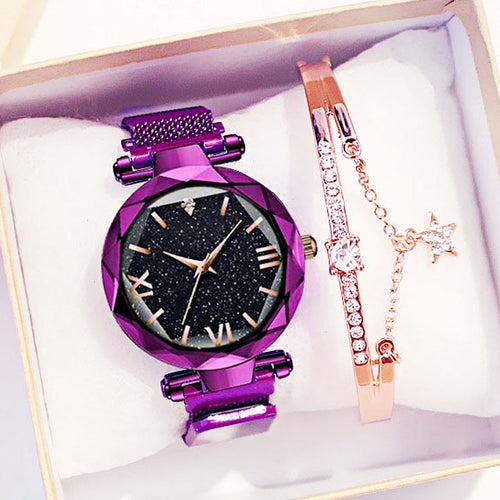 Edna Watch And Bracelet - Sateur Allure