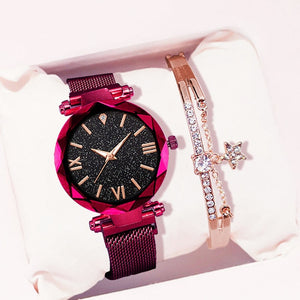 Edna Watch And Bracelet - Lussuro