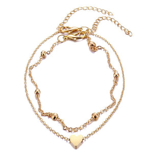 Hearty Anklet - Sateur Allure