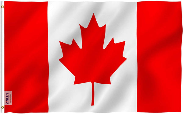 Canada Flag - Vivid Color and UV Fade Resistant - Country Double Stitched 3 X 5 Ft