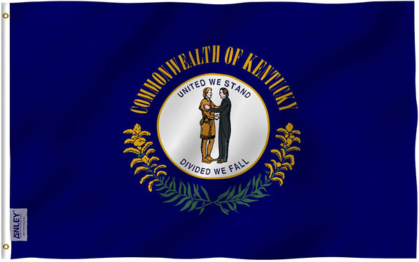 Kentucky State Flag - Vivid Color and UV Fade Resistant - Double Stitched 3 X 5 Ft