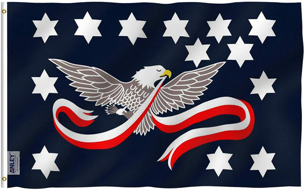 Whiskey Rebellion Flag - Vivid Color and UV Fade Resistant - Double Stitched 3 X 5 Ft