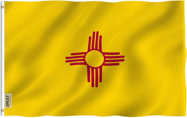New Mexico State Flag - Vivid Color and UV Fade Resistant - Double Stitched 3 X 5 Ft