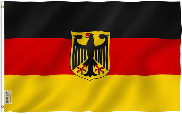 German State Ensign Flag - Vivid Color and UV Fade Resistant - Double Stitched 3 X 5 Ft