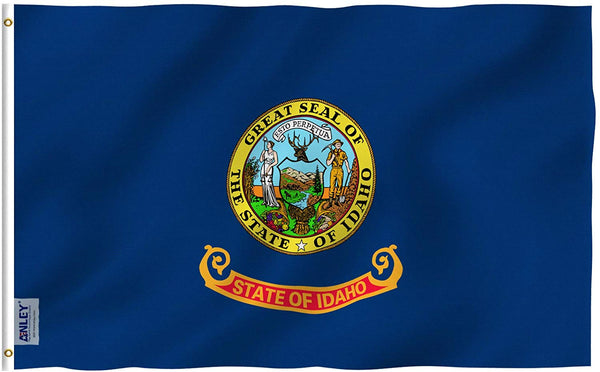 Idaho State Flag - Vivid Color and UV Fade Resistant - Double Stitched 3 X 5 Ft