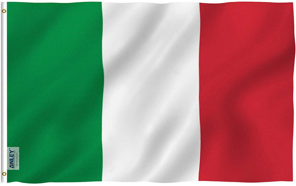 Italy Flag - Vivid Color and UV Fade Resistant - Country Double Stitched 3 X 5 Ft