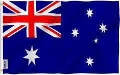 Australia Flag - Vivid Color and UV Fade Resistant - Country Double Stitched 3 X 5 Ft