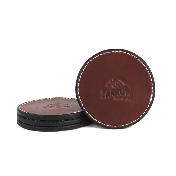 Coaster Set (Brown) - Farrow Co.