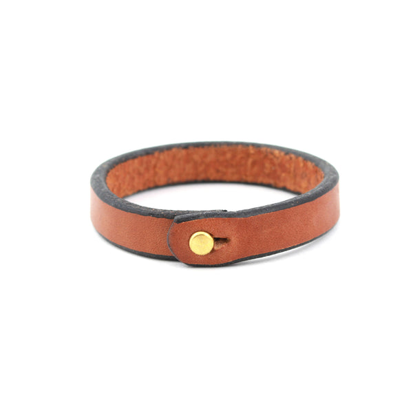Cuff Bracelet (Saddle Tan) - Farrow Co. - 1