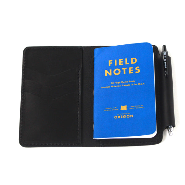Tyler Field Notes Wallet (Black)
