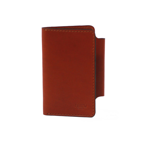 Tyler Field Notes Wallet (Saddle Tan)