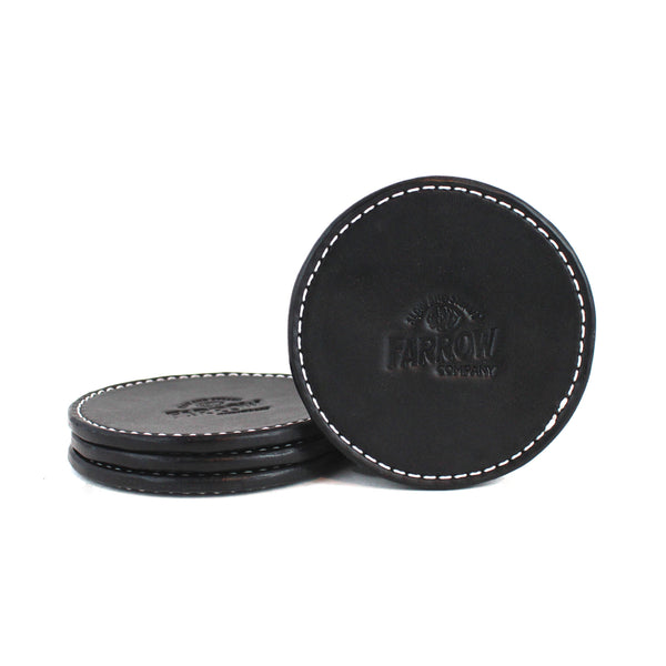 Coaster Set (Black) - Farrow Co.