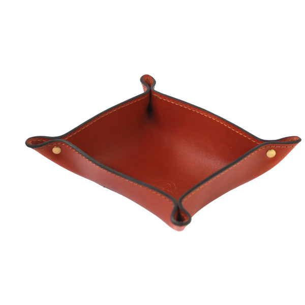 Valet Tray (Saddle Tan)