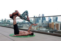 Yoga improves strength and flexibility