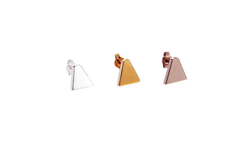 Ice Cream Cone Stud Earring