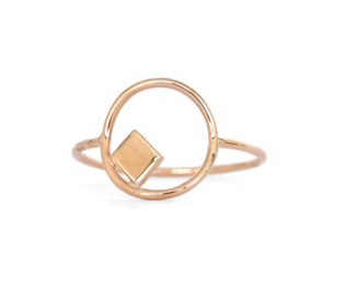 Elemental ring gold
