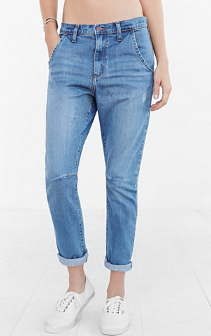 Classic Tailored Slung Jeans