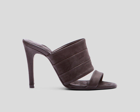 Blesi shrunken leather stilettos