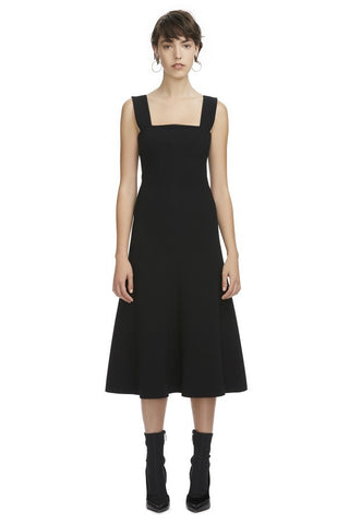 Ono Fit and Flare Dress / Black