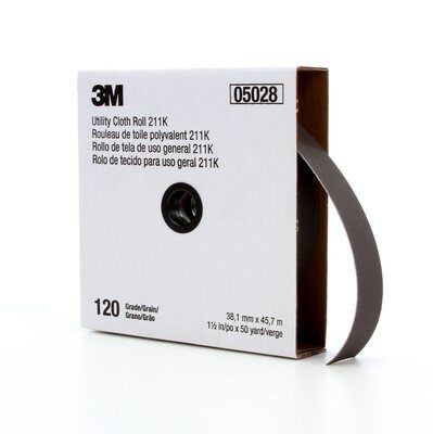 "3M SHOP ROLL 1-1/2""BX 50YD 120G  ROLL-USA"