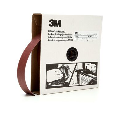 "3M PROFESSIONAL SHOP ROLL-RUBY 1-1/2""X 50YD 180G"