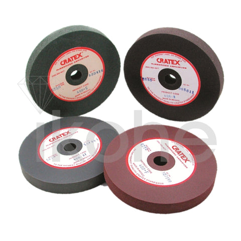 "CRATEX LARGE WHEEL 4 X 1/8 X 1/2"" X-FINE"