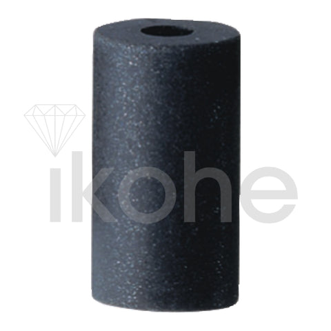 SILICONE INSIDE RING CYL. POLISHERS 14 X 25 X 5mm BLACK MEDIUM  BX/10