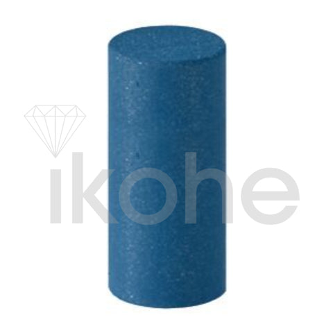 SILICONE SATIN FINISH UNMOUNTED POLISHERS 12X20MM CYLINDER DK. BLUE BX/100