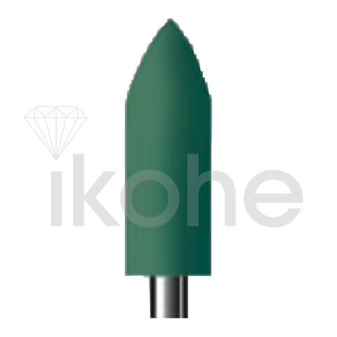 SHOFU MOUTED BULLET SUPERGREENIE-0278  BX/12