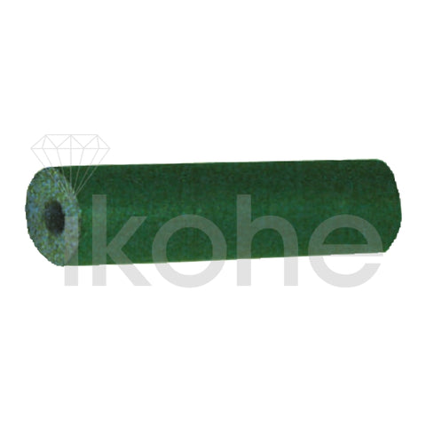 "DEDECO UNMOUNTED RUBBER FLEXIE 1/4 x 15/16"" CYLINDER GREEN COARSE BX/100"