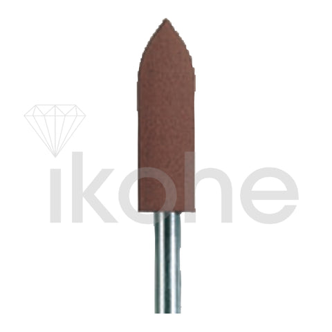 EDENTA TOP STAR MOUNTED BULLET 5 x 16 mm BROWN MEDIUM  BX/10