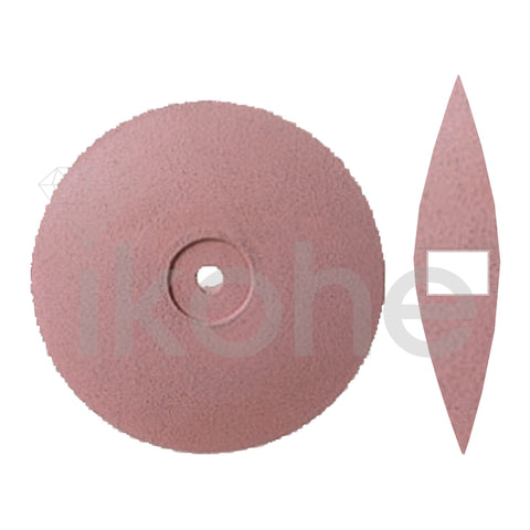 EDENTA GOLDINO UNMOUNTED K/EDGE 22 X 3 mm PINK XFINE BX/100