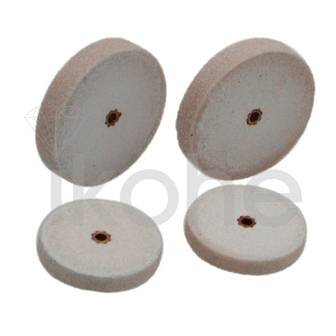 "IKOHE HEATLESS WHEELS ALUMINUM OXIDE 3/4 X 1/8""  BX/50"