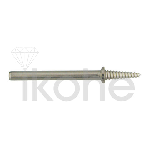 "MANDREL TAPERED SCREW  SHORT 1/16-  3/16""HEAD X  3/32"" SHANK- BX/12"