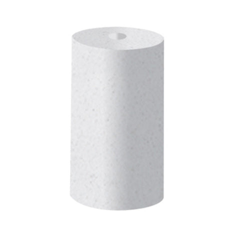 "DEDECO UNMOUNTED SILICONE RUBBER 15/16""x1/2"" CYLINDER WHITE-COARSE  BX/100"