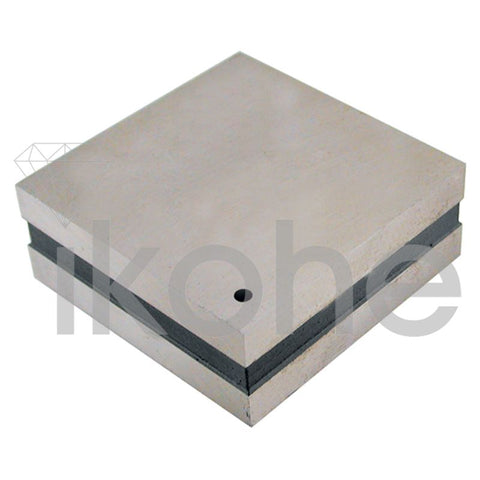 STEEL BENCH BLOCK 2 1/4 x 2 1/4 x 1""
