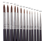 IKOHE PREMUIM SYNTHETIC SABLE BRUSH SIZE #6
