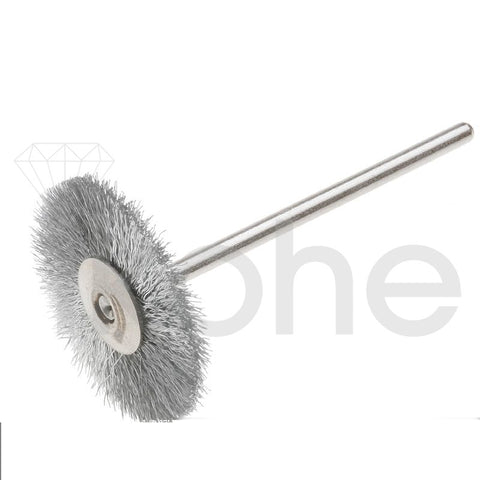 "STEEL WIRE BRUSH MTD 3/4"" CRIMPED  BX/12"