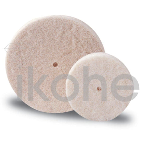 "MIDGET FELT WHEELS 1/2 X 1/8"" SOFT PK/12"