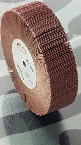 EMERY FLAP WHEEL 100 X 30mm - MEDIUM