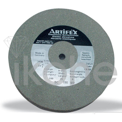 ARTIFEX WHEEL 100 X 20 X 6 mm 80G COARSE GERMAN