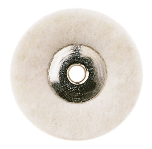 MINIATURE FELT POLISHING CLOTH UNMOUNTED DISK 22mm BX/12