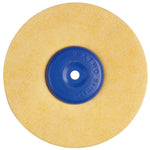 MICROFIBER LEATHER DISC 100 DIA X 40 HUB X 15 THICK